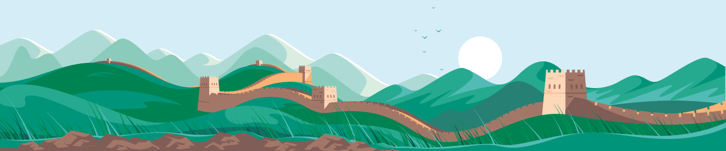 China_Funds_Great_Wall_Moutains_Landscape_Asia